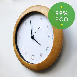 Eco Clock amberbydesign