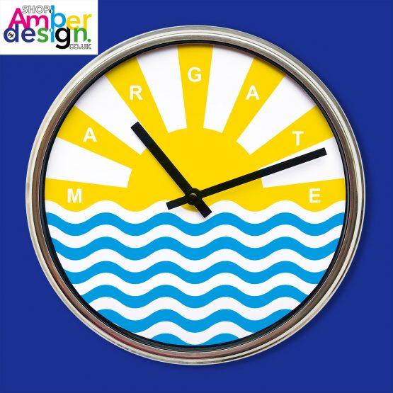 seaside clock margate clock nautical