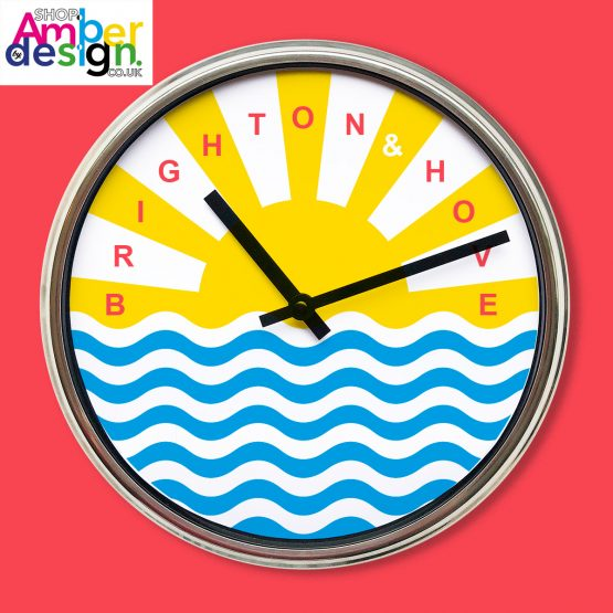 seaside clock brighton and hove