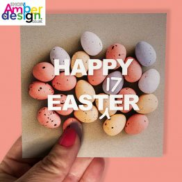 easter card - Happy East17