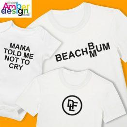 T-shirts & Babygrows