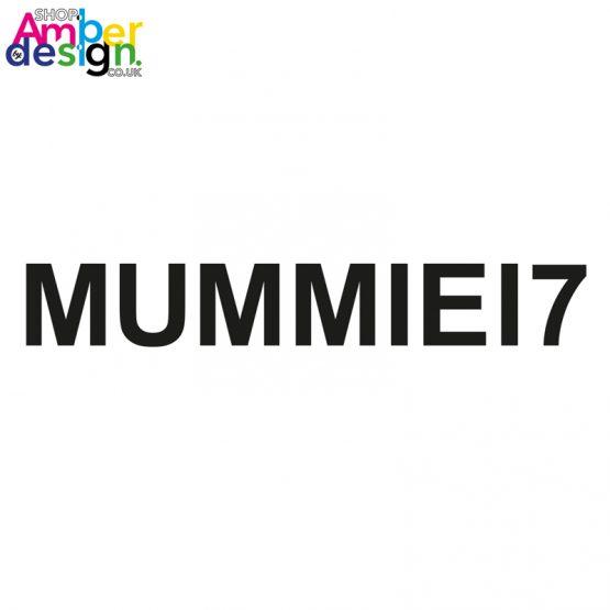 adult tshirt - mummie17